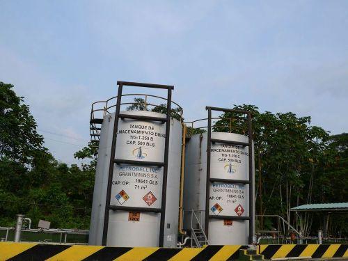 Tanque de Almacenamiento de Diesel